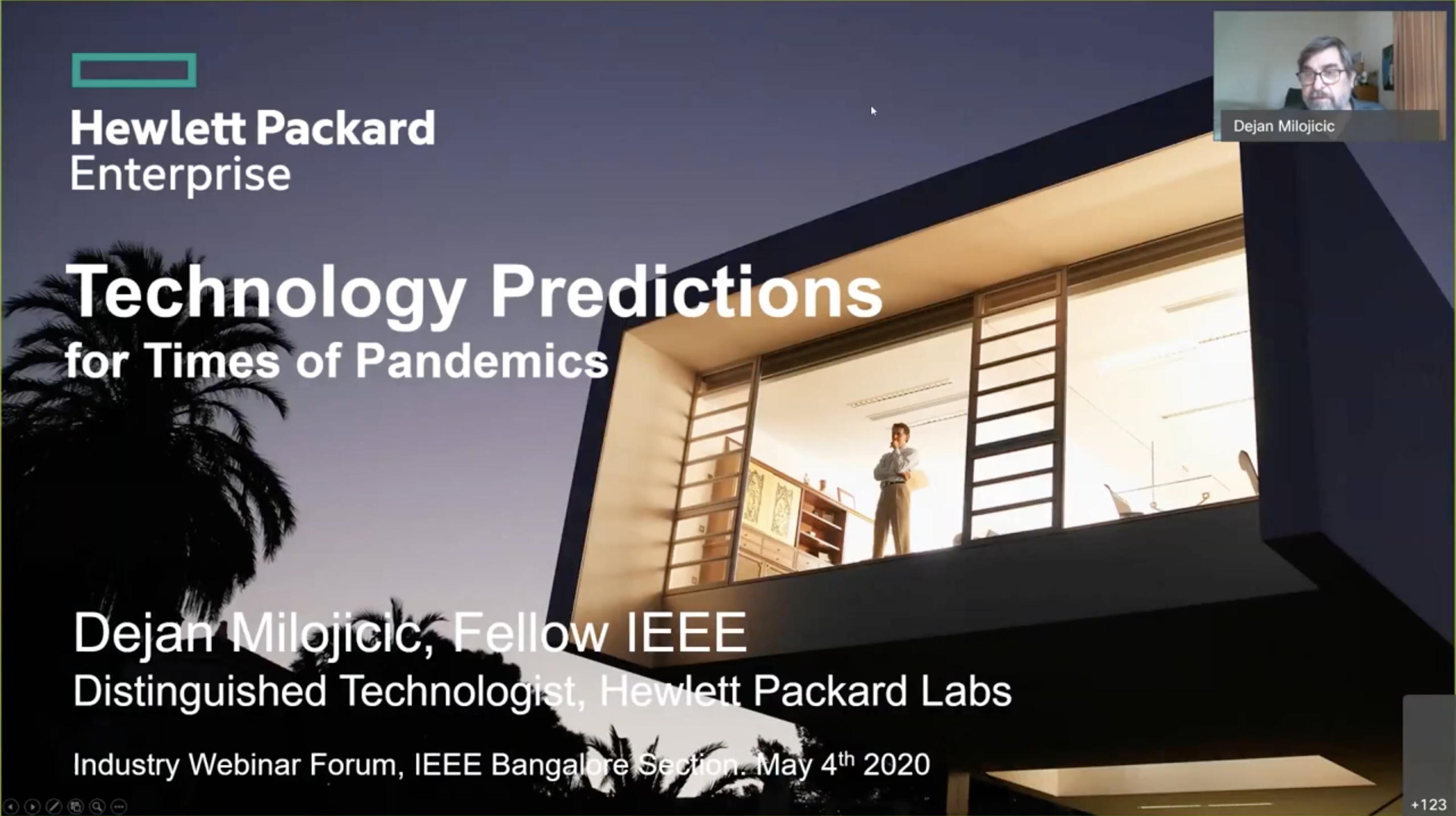 Technology Predictions for Times of Pandemics