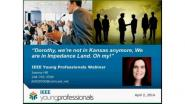 Dorothy, we're not in Kansas anymore, we are in Impedance Land. Oh my! EMC Webinar