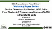 Flexible Converters for Meshed HVDC Grids