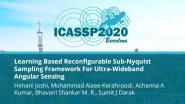 Learning Based Reconfigurable Sub-Nyquist Sampling Framework For Ultra-Wideband Angular Sensing