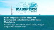 Demo Proposal For Joint Radar And Communication System Based On Index Modulation