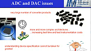 Tutorial of Eulalia Balestrieri on ADC and DAC metrological standardization
