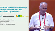 MicroApps: 200W RF Power Amplifer Design using a Nonlinear Vector Network Analyzer and Measured Load-Dependent X-Parameters (2) (Agilent Technologies)