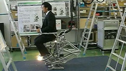 Power Pedals As Man-Machine Synergy Effectors--Bipedal Walking with Human Skill and Robot Power