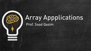 Array Applications