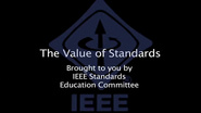 The Value of Standards
