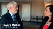 Meet IEEE 2015 President Howard Michel: Technology