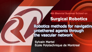 Surgical Robotics: Robotics methods for navigating untethered agents through the vascular network