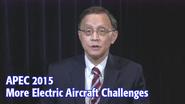 APEC 2015: KeyTalks - More Electric Aircraft Challenges
