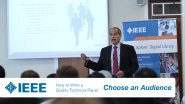 IEEE Authoring Part 3: Choose Your Audience