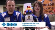 Experience ICRA 2015: Robot Challenges