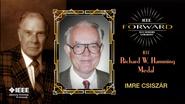2015 IEEE Honors: IEEE Richard W. Hamming Medal - Imre Csiszar