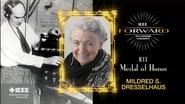 2015 IEEE Honors: IEEE Medal of Honor - Mildred S. Dresselhaus