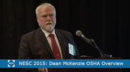 The NESC Summit 2015:OSHA Overview: Dean McKenzie