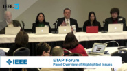 Overview of Issues Highlighted at End to End Trust and Security for the Internet of Things Workshop - ETAP Forum, February 2016