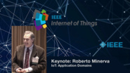 Roberto Minerva on the Internet of Things Application Domains - WF-IoT 2015