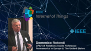 Domenico Rotondi: CPS/IoT Relations Inside Reference Frameworks - WF-IoT 2015