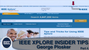 IEEE Xplore: Insider Tips to Improve Your Productivity - Part 4