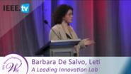Chief Scientist Barbara De Salvo on How Leti is a Pioneer to Innovation - 2016 Women in Engineering Conference