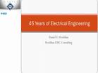 45 Years of Electrical Engineering - Daniel D. Hoolihan (2015-HKN-SLC)