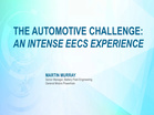 The Automotive Challenge: An Intense EECS Experience (2015-HKN-SLC)