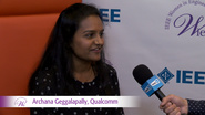 Archana Geggalapally from Qualcomm at WIE ILC 2016