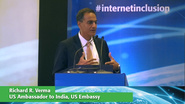 Richard R. Verma Keynote at Internet Inclusion: Advancing Solutions, Delhi, 2016