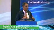 Richard R. Verma Keynote at Internet Inclusion: Advancing Solutions, Delhi, 2016