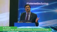 JS Deepak Keynote at Internet Inclusion: Advancing Solutions, Delhi, 2016