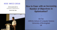 How to Cope with an Increasing Number of Objectives in Optimization - Xin Yao - WCCI 2016