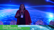 Parry Aftab of Cybersafety India at Internet Inclusion: Advancing Solutions, Delhi, 2016