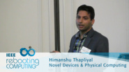 FinSAL: A Novel FinFET Based Secure Adiabatic Logic for Energy-Efficient and DPA Resistant IoT Devices - Himanshu Thapliyal: 2016 International Conference on Rebooting Computing