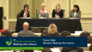 Panel Q&A - Women Making the Future: 2016 Technology Time Machine