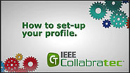 IEEE Collabratec: How to set-up your profile