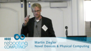 Double Barrier Memristive Devices for Neuromorphic Computing - Martin Zeigler: 2016 International Conference on Rebooting Computing