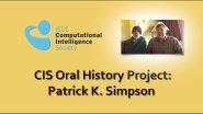Interview with Patrick K. Simpson: CIS Oral History Project