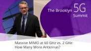 Massive MIMO at 60 GHz vs. 2 GHz - Eric Larsson: Brooklyn 5G Summit 2017