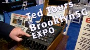 Ted Tours the Brooklyn 5G Summit Expo Floor