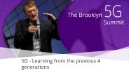 5G - Learning From the Previous 4 Generations - Henning Schulzrinne: Brooklyn 5G Summit 2017