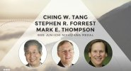 Ching W. Tang, Stephen R. Forrest and Mark E. Thompson receive the IEEE Jun-Ichi Nishizawa Medal - Honors Ceremony 2017
