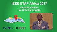 Welcome Address: Nhlanhla Lupahla - ETAP Forum Namibia, Africa 2017