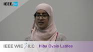 Hiba Latifee: Inspiring Student WIE Member of the Year Winner - IEEE WIE ILC Awards 2017