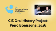 Interview with Piero Bonisone, 2016: CIS Oral History Project