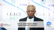 Meet Keynote Speaker Muhammad H Rashid - 2017 International Conference on Innovations in Electrical Engineering and Computational Technologies