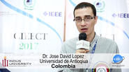 Meet Plenary Speaker Jose David Lopez - 2017 International Conference on Innovations in Electrical Engineering and Computational Technologies (ICIEECT)