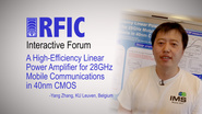 A High-Efficiency Linear Power Amplifier for 28GHz Mobile Communications in 40nm CMOS: RFIC Interactive Forum 2017