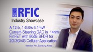A 12-b, 1-GS/s 6.1mW Current-Steering DAC in 14nm FinFET with 80dB SFDR for 2G/3G/4G Cellular Application: RFIC Industry Showcase 2017