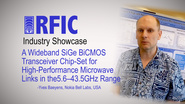 A Wideband SiGe BiCMOS Transceiver Chip-Set for High-Performance Microwave Links in the 5.643.5GHz Range: RFIC Industry Showcase 2017