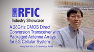 A 28GHz CMOS Direct Conversion Transceiver with Packaged Antenna Arrays for 5G Cellular Systems: RFIC Industry Showcase 2017