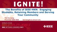 Benefits of IEEE-HKN - Tim Kurzweg - Ignite: Sections Congress 2017
